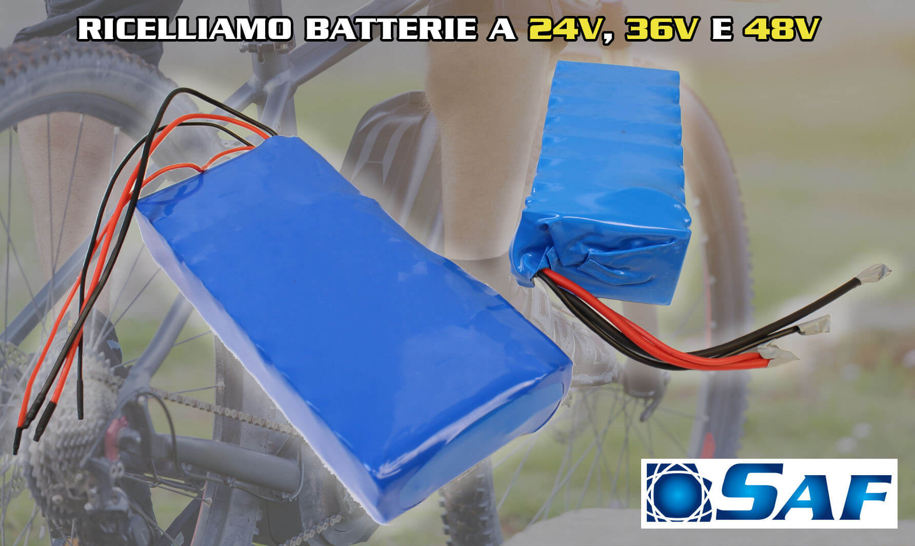ricelliamo batterie per e bike 24v 36v 48v