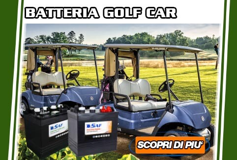 batterie per golf car